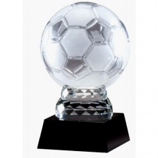 """CRY284 12"""" CRYSTAL SOCCER BALL - 4 SIZES"""